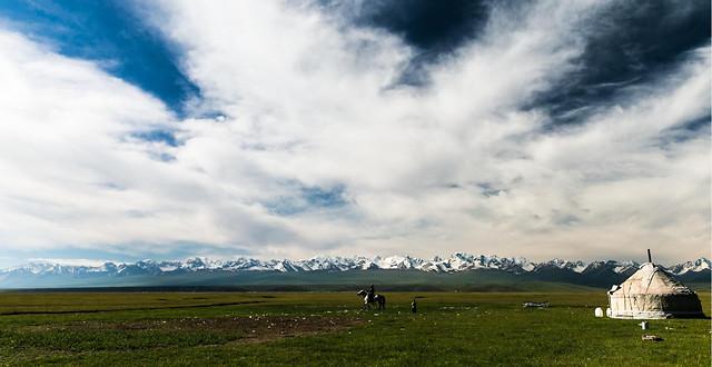 no-person-landscape-sky-outdoors-grassland 图片素材