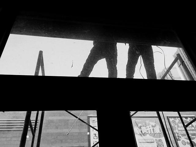 monochrome-architecture-black-street-bridge picture material