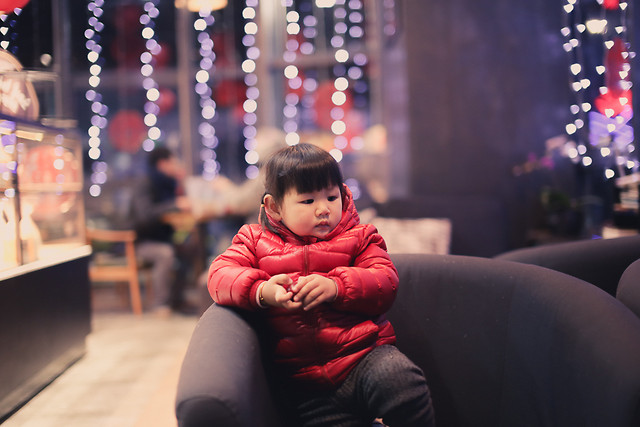 people-christmas-red-portrait-child picture material