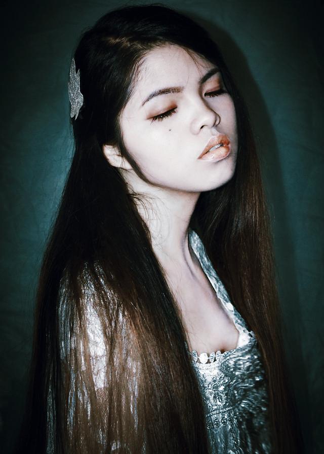 portrait-girl-woman-fashion-model picture material
