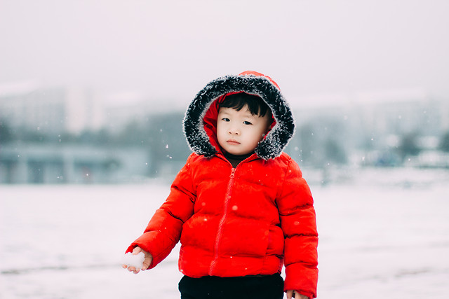 winter-snow-cold-child-nature picture material