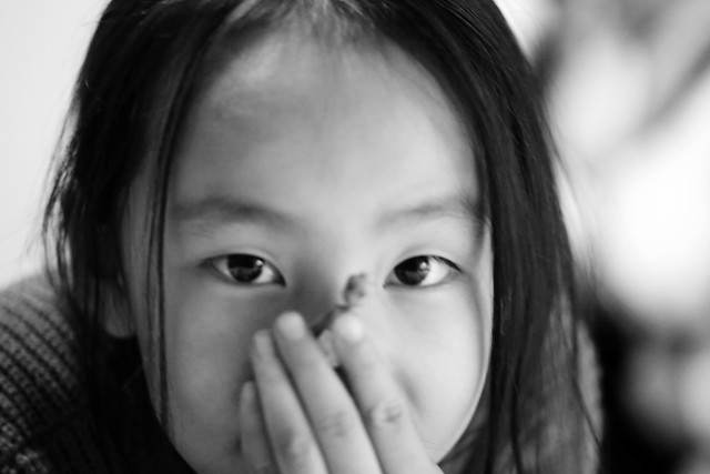 portrait-girl-people-monochrome-face picture material