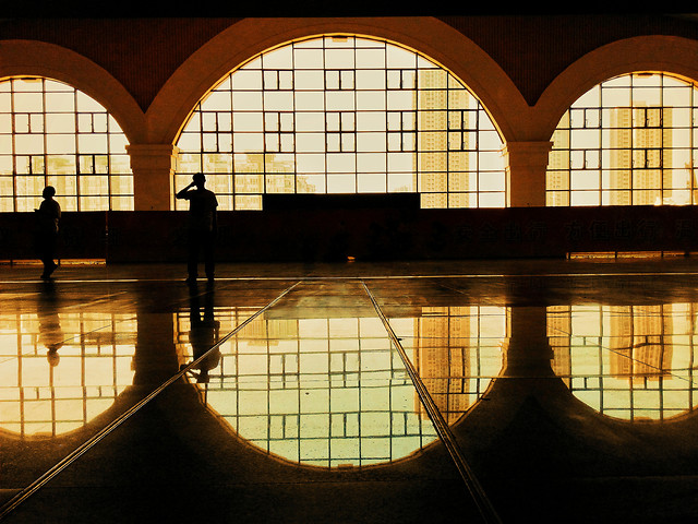 architecture-reflection-no-person-light-travel picture material