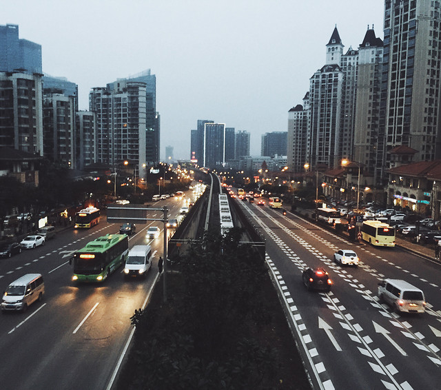 traffic-road-transportation-system-highway-city picture material