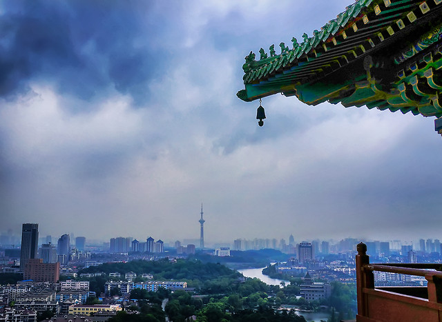 city-architecture-travel-water-skyline 图片素材