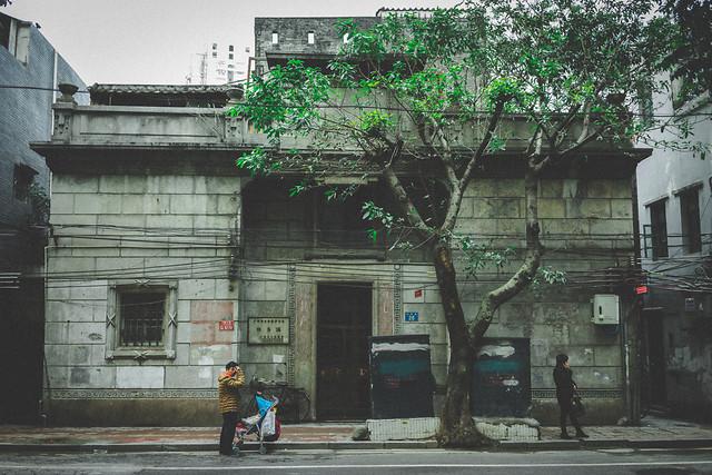 street-building-calamity-city-people 图片素材