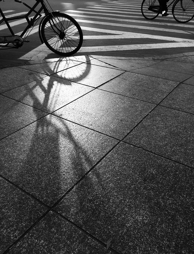 street-pavement-road-shadow-guidance picture material