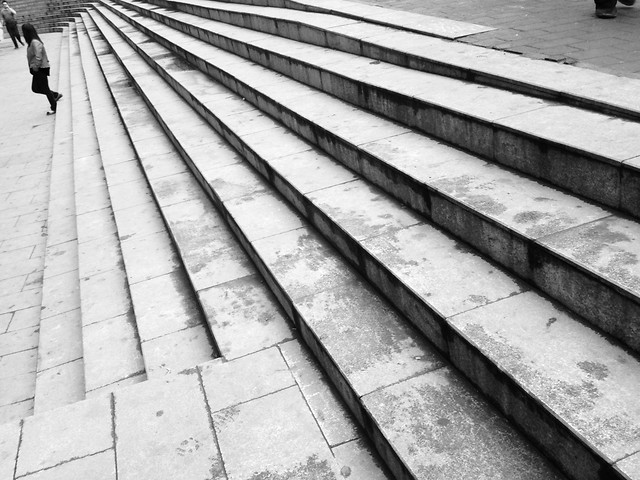no-person-black-white-architecture-step-industry picture material