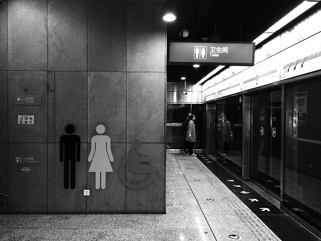 monochrome-street-train-subway-system-black picture material