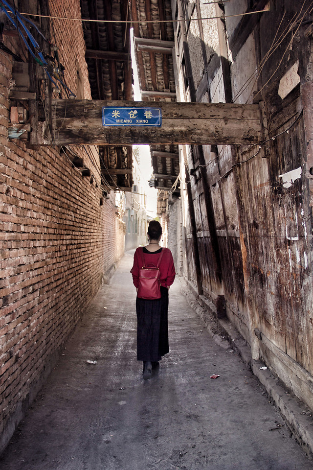 people-street-architecture-alley-road picture material