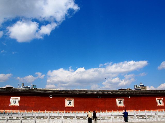 no-person-sky-cloud-architecture-blue picture material
