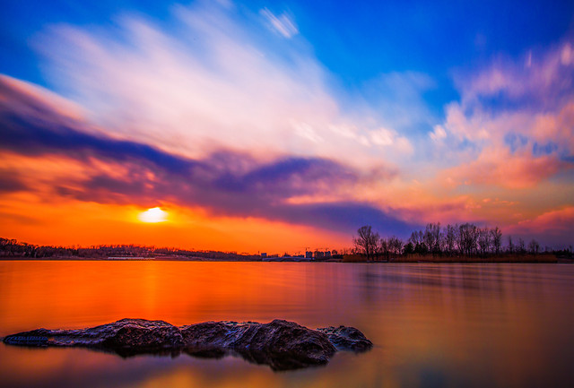 sunset-water-dawn-dusk-evening 图片素材