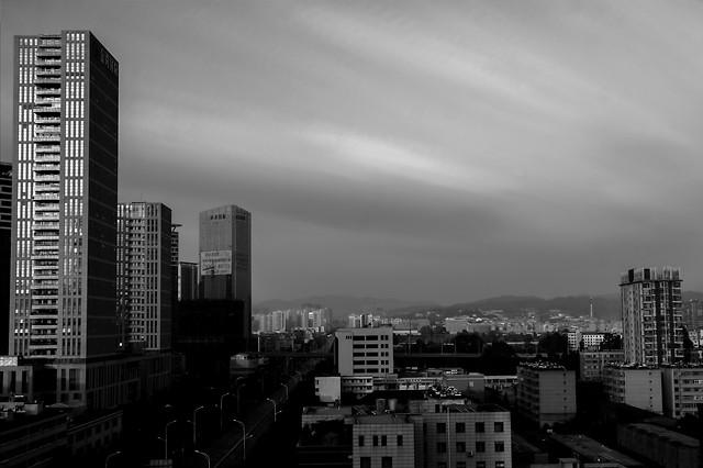 city-skyscraper-architecture-skyline-downtown picture material