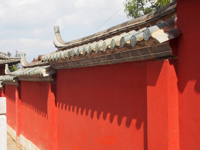 architecture-temple-chinese-architecture-traditional-roof picture material