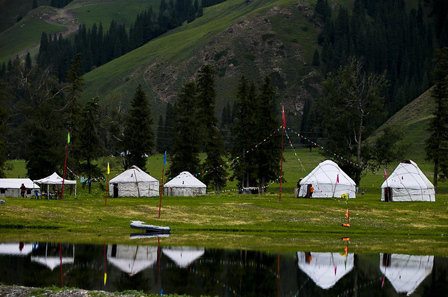 tent-no-person-landscape-lake-nature picture material