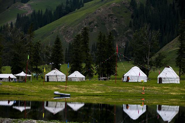 tent-no-person-landscape-lake-nature picture material