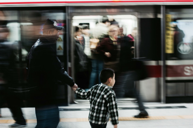 street-city-subway-system-commuter-airport picture material