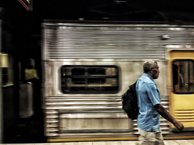 subway-system-people-man-train-street picture material