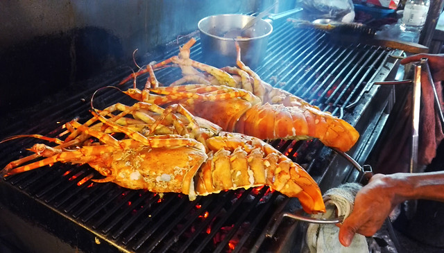 food-barbecue-meat-flame-cooking 图片素材