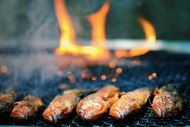 flame-food-barbecue-hot-cooking 图片素材