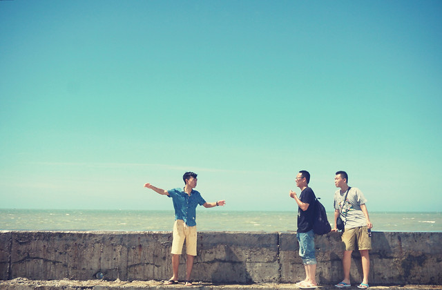 man-sky-leisure-sea-photograph picture material