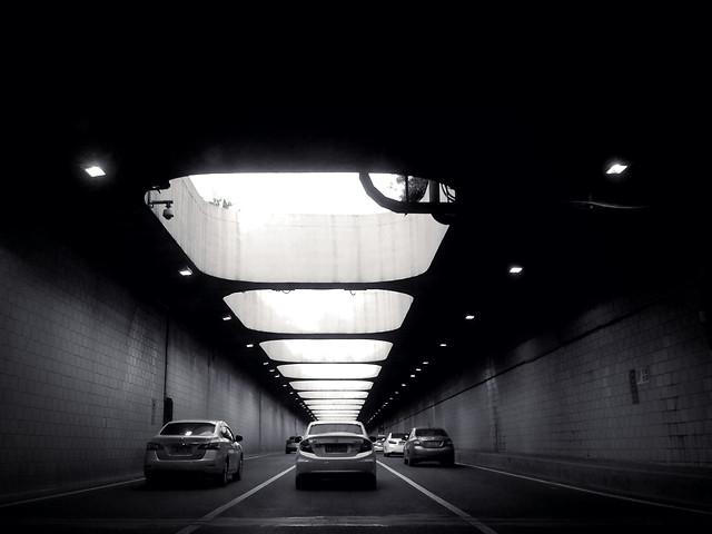 light-dark-subway-system-no-person-monochrome picture material