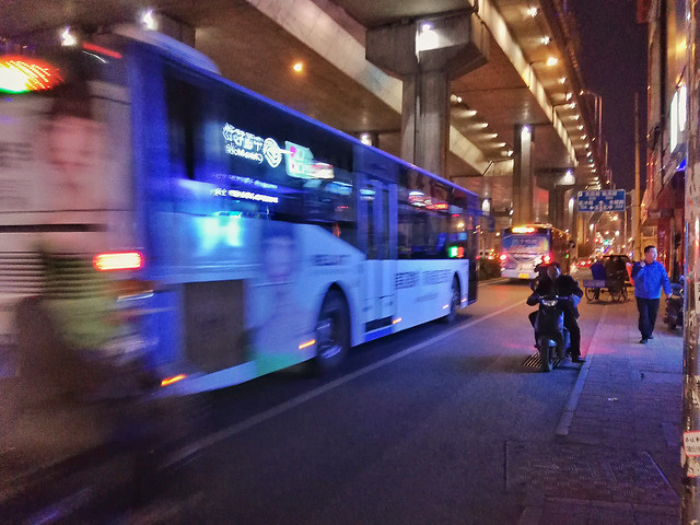 bus-blur-traffic-transportation-system-city picture material