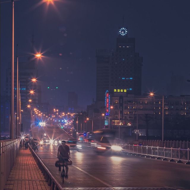 city-road-metropolitan-area-bridge-street picture material