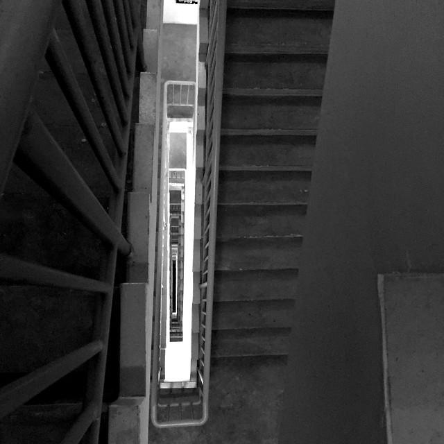no-person-step-architecture-monochrome-building picture material