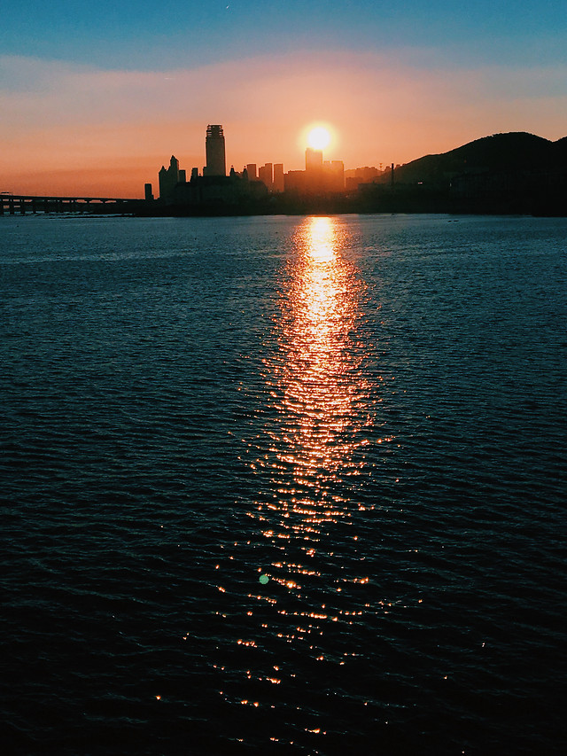 sunset-no-person-water-dawn-evening 图片素材