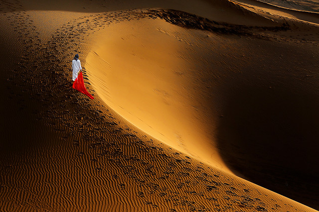 desert-sand-sunset-beach-no-person picture material