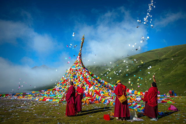 festival-people-sky-nature-religion picture material