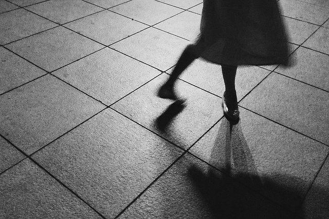 floor-street-pavement-monochrome-people picture material