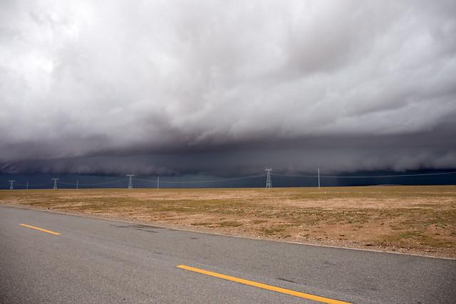 no-person-landscape-road-cloud-sky 图片素材