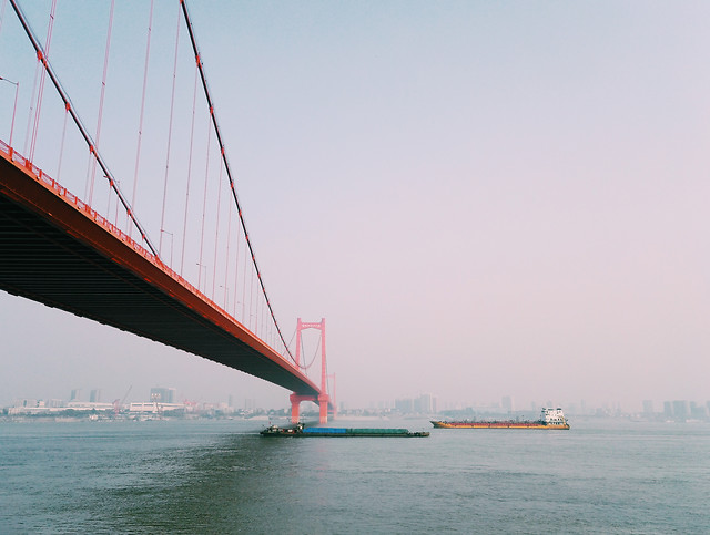 bridge-water-transportation-system-travel-sky picture material