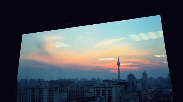 city-architecture-sky-sunset-skyline picture material