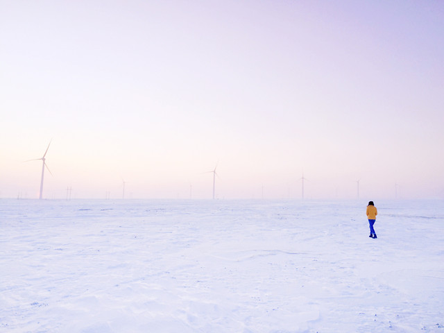 winter-snow-landscape-sky-cold picture material