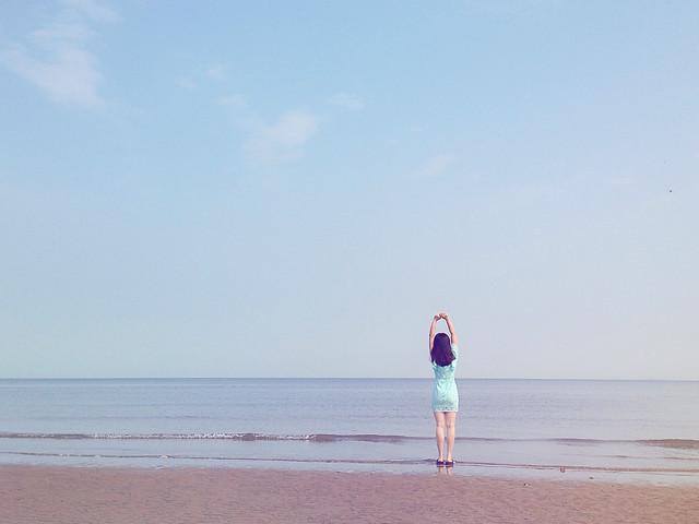 beach-sea-sand-water-ocean 图片素材