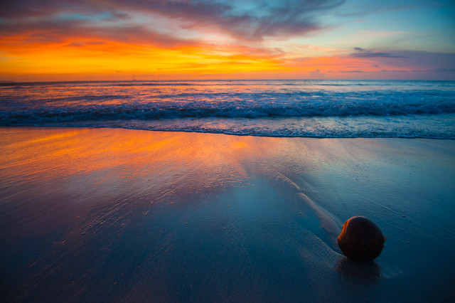 sunset-water-no-person-sun-dawn picture material