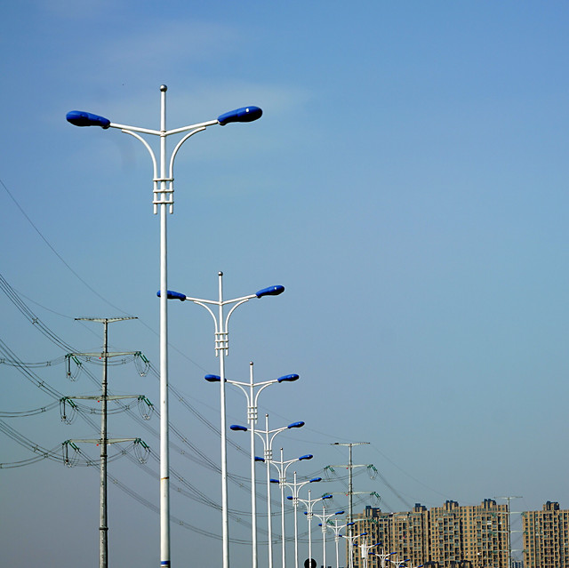 sky-no-person-street-light-electricity-power picture material