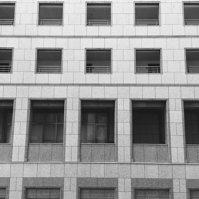architecture-building-window-wall-facade 图片素材