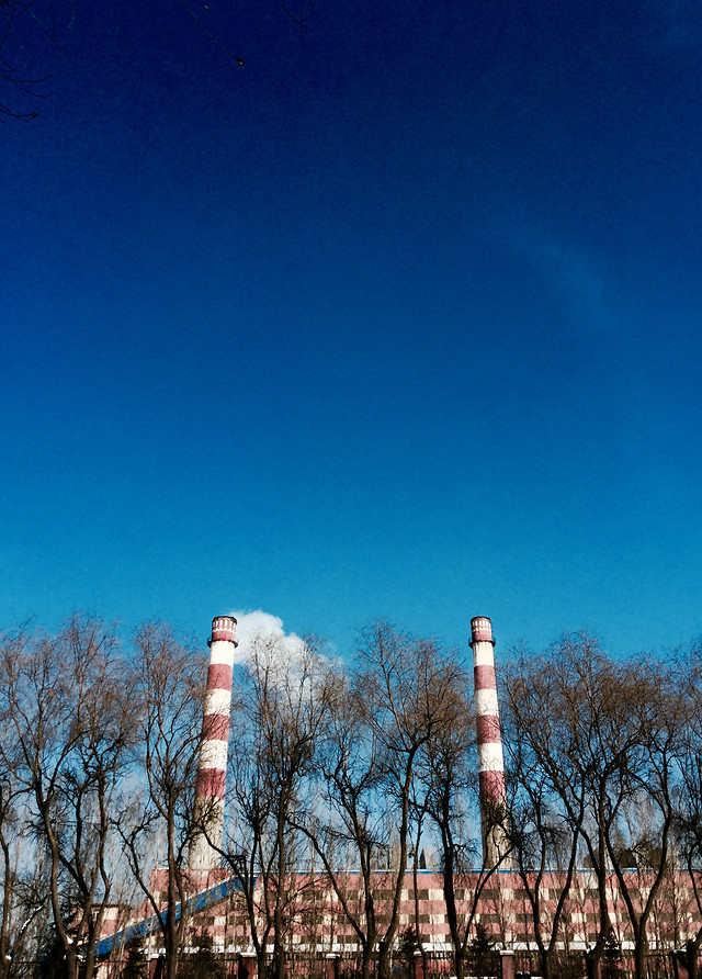 no-person-sky-pollution-smoke-industry picture material