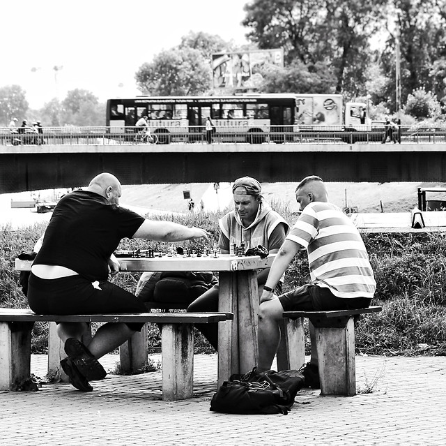 people-adult-group-together-group-bench picture material