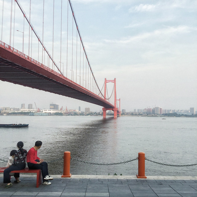 bridge-water-travel-transportation-system-architecture picture material