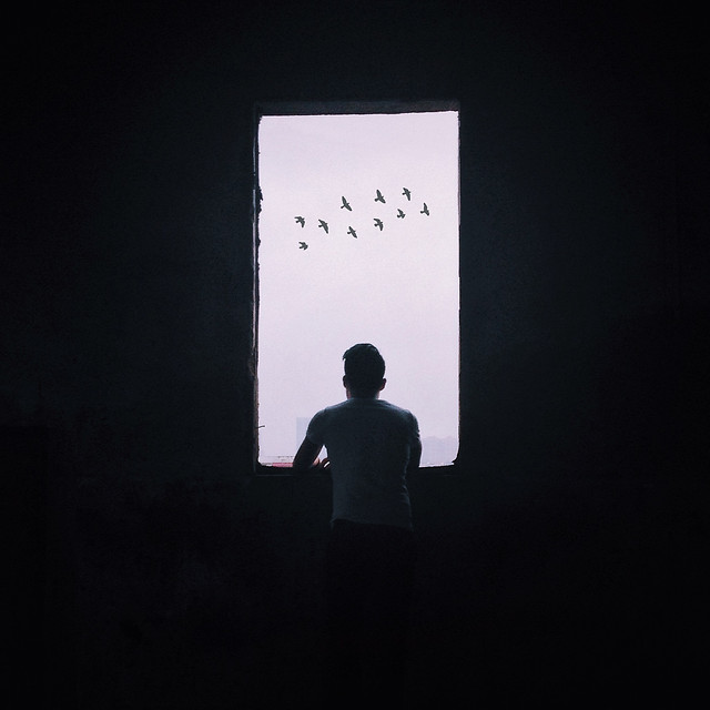 silhouette-people-shadow-light-man picture material