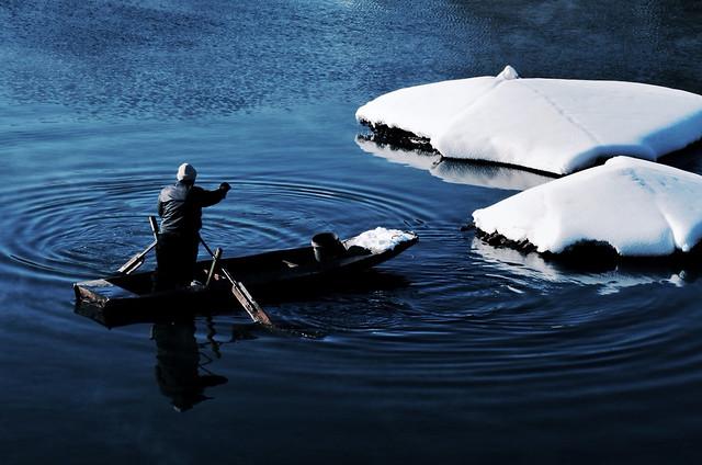 water-no-person-lake-reflection-watercraft 图片素材