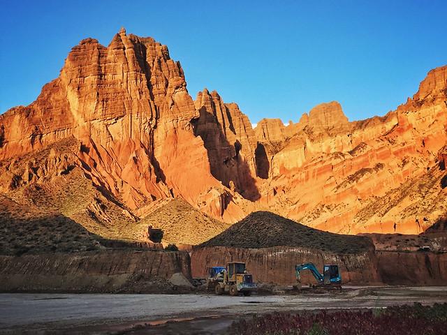 travel-no-person-desert-landscape-sandstone picture material