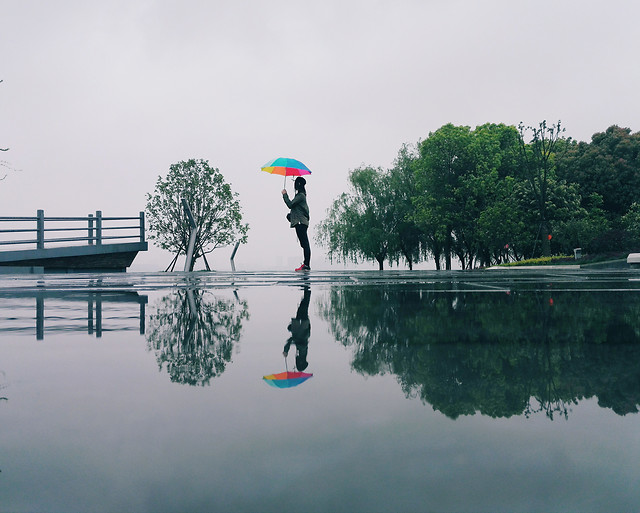 reflection-water-recreation-lake-people picture material