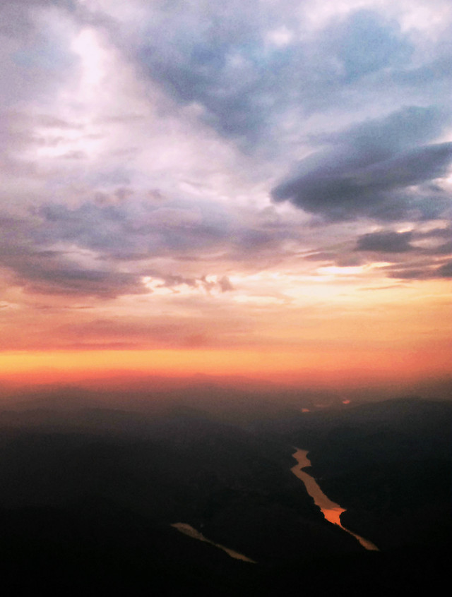 sky-sunset-dawn-evening-dusk picture material
