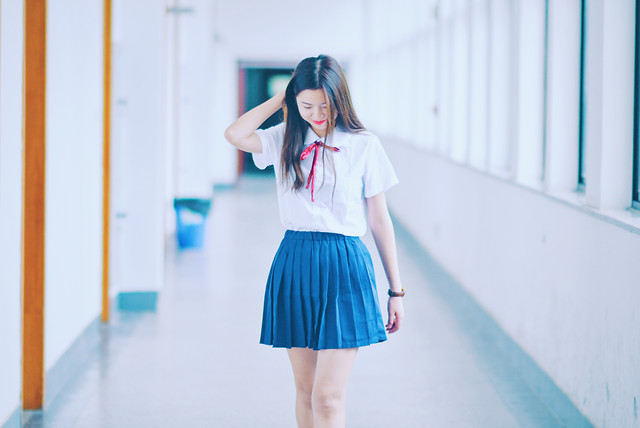 woman-clothing-blue-girl-fashion picture material
